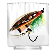 Green Highlander Shower Curtain