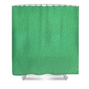 Green Textile Shower Curtain