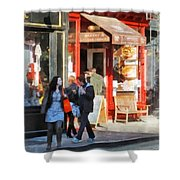 Greenwich Village Bakery Shower Curtain