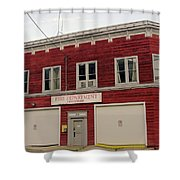 Greenwood Fire Hall Shower Curtain