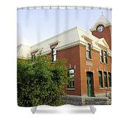 Greenwood Post Office Shower Curtain