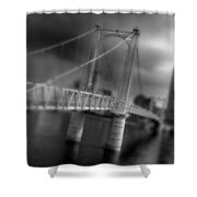 Greig Street Bridge Shower Curtain