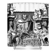 Griffith: Intolerance 1916 Shower Curtain
