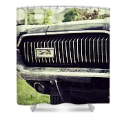 Grilled Cougar Shower Curtain