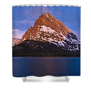 Grinnel Point At First Light Shower Curtain