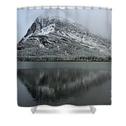 Grinnell Mirror Shower Curtain