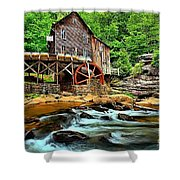 Grist Mill At Babcock Shower Curtain