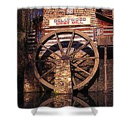 Grist Mill In The Smokies Shower Curtain