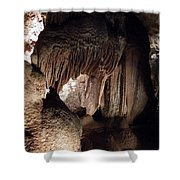 Grotte Magdaleine Sout France In Ardeche Shower Curtain