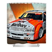 Group C Vk Commodore Shower Curtain