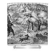 Grouse Hunting, 1855 Shower Curtain