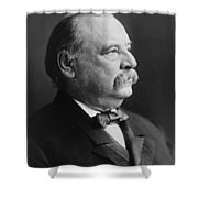 Grover Cleveland - President Of The United States Shower Curtain by International  Images