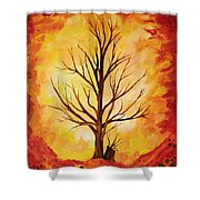 Growing Again Shower Curtain