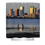 Growing Up Tampa Bay Shower Curtain