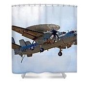 Grumman E-2 Hawkeye Shower Curtain