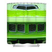 Gto Grill Shower Curtain