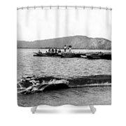 Guanica Harbor - San Juan - Puerto Rico - C 1899 Shower Curtain