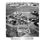 Guantanamo Bay Naval Base Shower Curtain