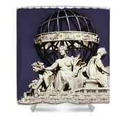 Guardians Of The Law Shower Curtain