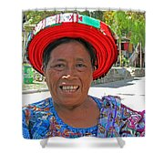 Guatemalan Village Woman Shower Curtain