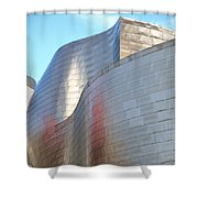 Guggenheim Museum Bilbao - 2 Shower Curtain