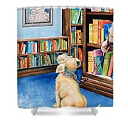 Guide Dog Training Shower Curtain