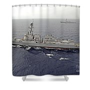 Guided Missile Destroyers Uss Dewey Shower Curtain