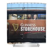 Guinness Storehouse Dublin - Ireland Shower Curtain