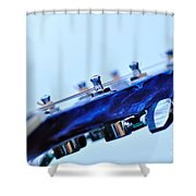 Guitar Abstract 5 Shower Curtain
