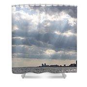 Gulf Of Mexico - Gulf Sunshine Shower Curtain
