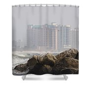 Gulf Of Mexico - Ocean Inward Shower Curtain