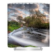 Gush Forth 1.0 Shower Curtain