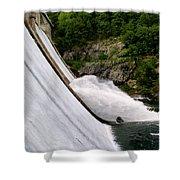 Gusher Shower Curtain
