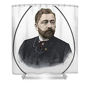 Gustave Eiffel, French Architect Shower Curtain