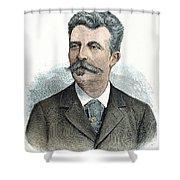 Guy De Maupassant Shower Curtain