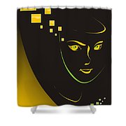 Gv043 Shower Curtain
