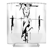 Gv090 Shower Curtain