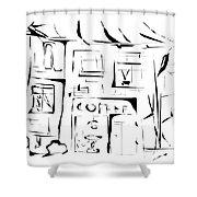 House 092 - Marucii Shower Curtain