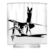 Horse 94 - Marucii Shower Curtain