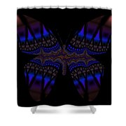 Gypsy Butterfly Shower Curtain