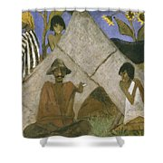 Gypsy Encampment Shower Curtain by Otto Muller or Mueller