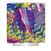 H-proline Shower Curtain
