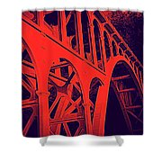 Haceta Head Bridge Shower Curtain