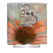 Hackberry Emplorer Butterfly Shower Curtain