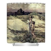 Hagar And Ishmael Shower Curtain