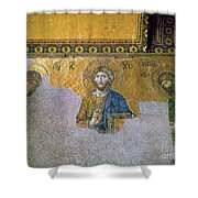 Hagia Sophia: Mosaic Shower Curtain by Granger