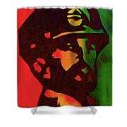 Haile Selassie Shower Curtain