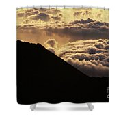 Haleakala First Light Shower Curtain