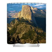 Half Dome From Washburn Point Shower Curtain