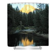 Half Dome Reflection Shower Curtain